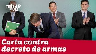 Governadores de 13 Estados enviam carta contra decreto de armas de Bolsonaro