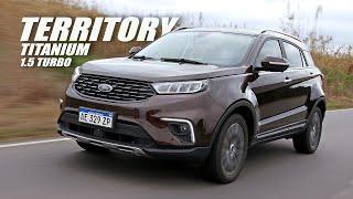 Ford Territory 1.5 Turbo Titanium - Test - Matías Antico - TN Autos