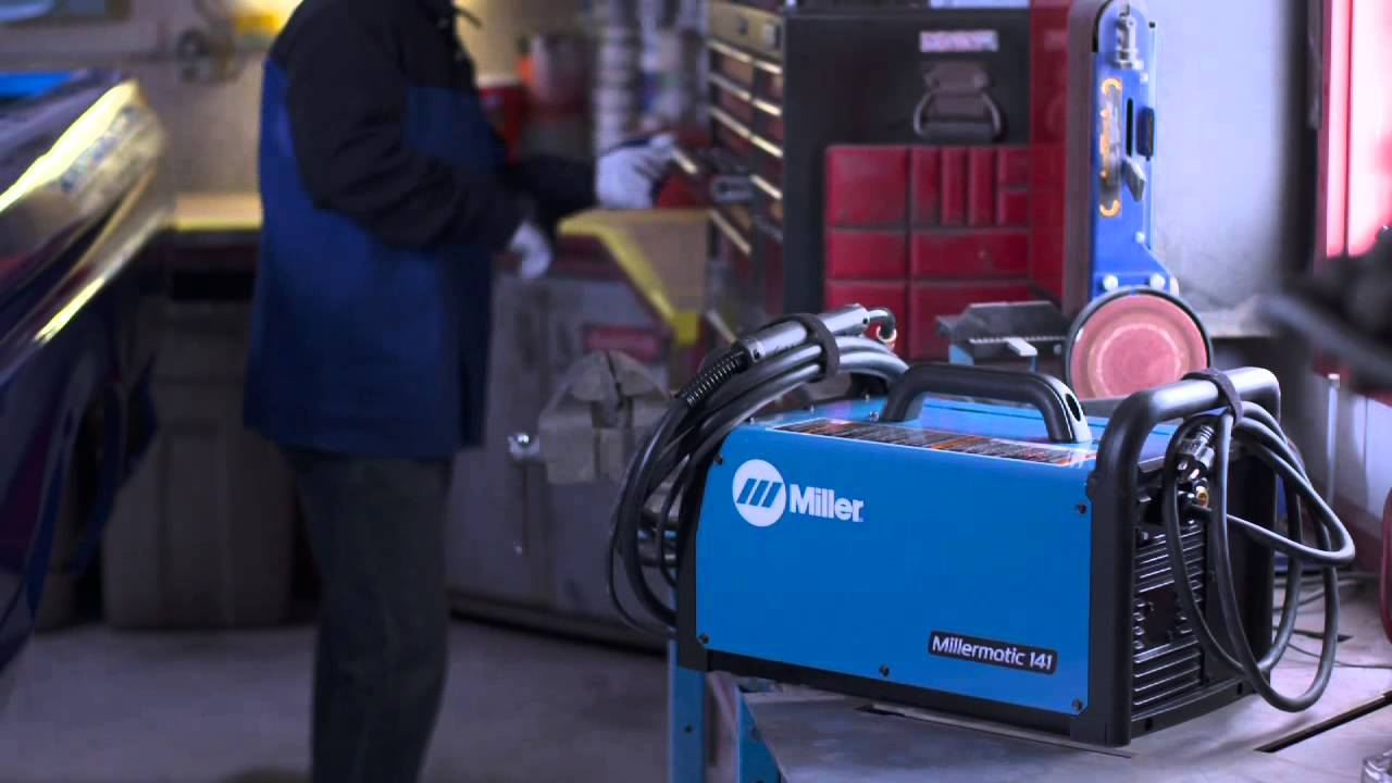 Millermatic 141 Mig Welder Easy To Use All In One Youtube Well As Snap On Parts Diagram Along With For