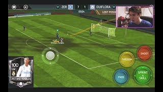 THE BEST PLAYER IN FIFA MOBILE 18 w/ GAMEPLAY!!! 100 OVR RONALDO!! | FIFA 18 Mobile iOS