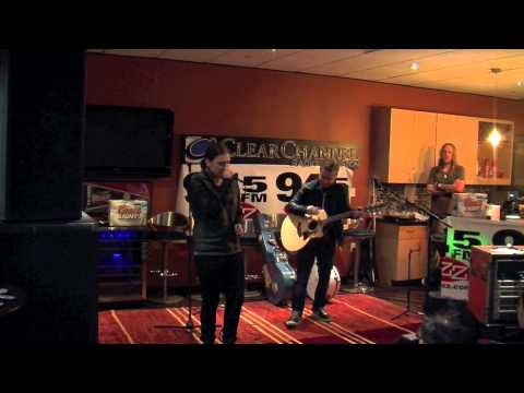 Shinedown performs Simple Man in the 945 The Buzz studio