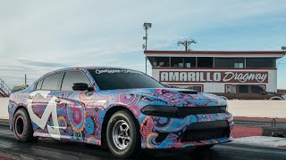 WORLD'S FASTEST!!! BREAKING RECORDS IN MY HELLCAT CHARGER!!!!