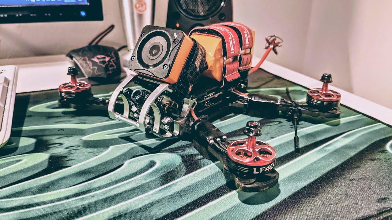 Yarış Dronu Uçuş Videosu