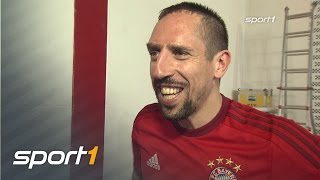 Müller stört Interview mit Ribery