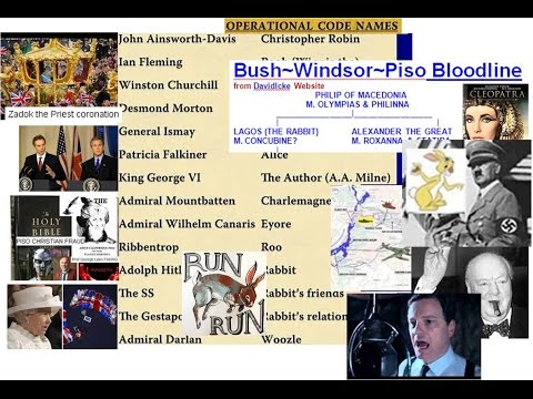 Run Rabbit Run Rabbit run run run Alexander the Gt, Hitlers Friends, PISOS, WINDSORS £Bn Flemings