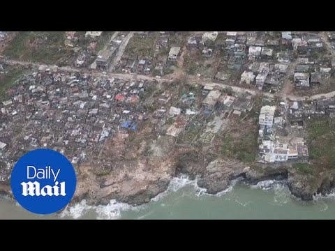 Aerials show the aftermath of Hurricane Matthew in Haiti - Daily Mail