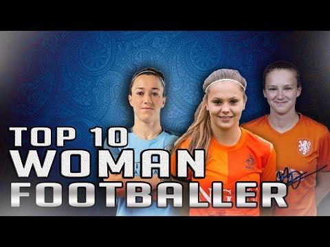 Top 10 Woman Footballer | Top 10 Best FIFA Women's Player | Ft. Lieke Martens , Pernille Harder