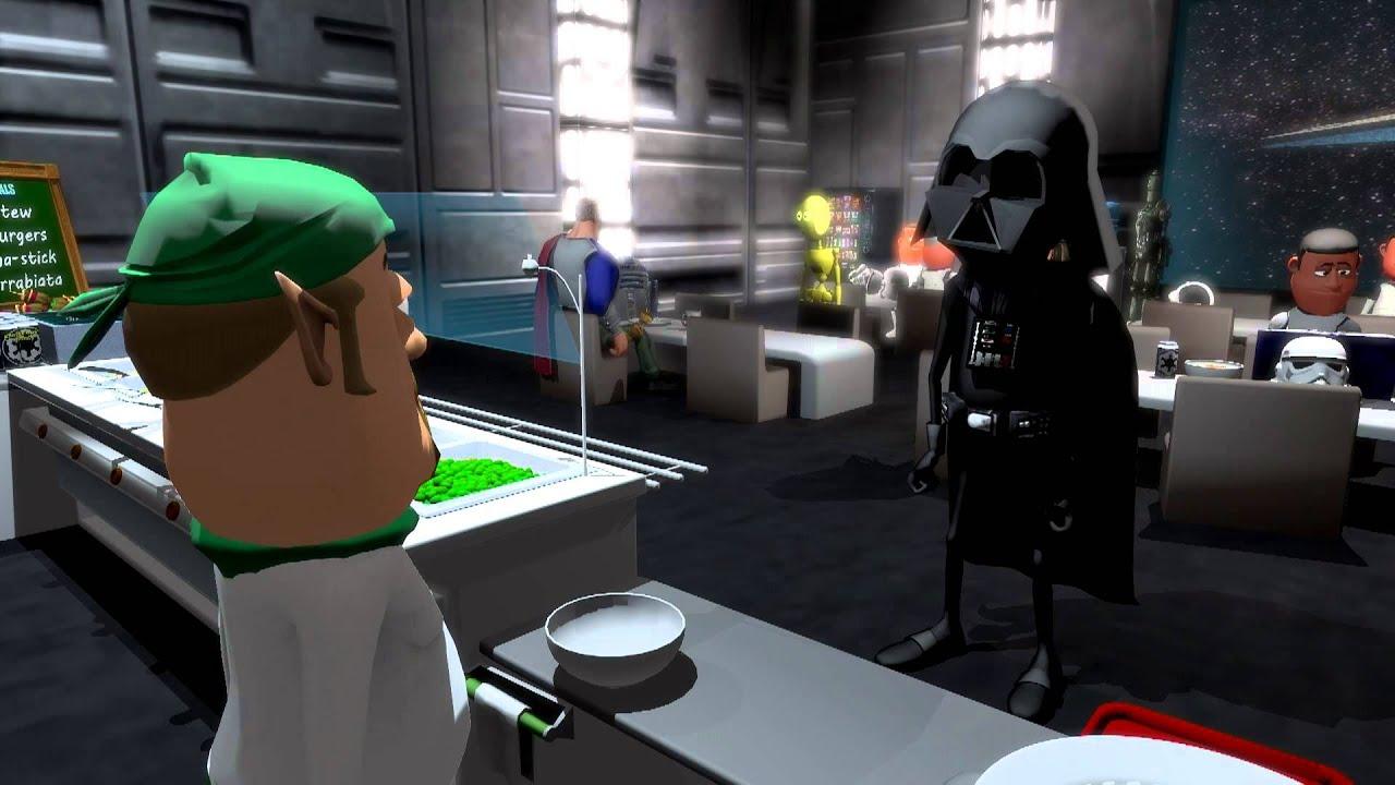 Darth Vader Na Cantina Da Estrela Da Morte Canal Do Ray 6 Youtube