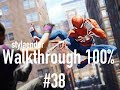 Spider-Man PS4 - Walkthrough Gameplay #38: Reaching 100% of the Game! - No Commentary!