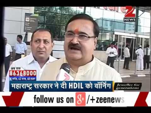 Maharashtra govt gives warning to HDIL