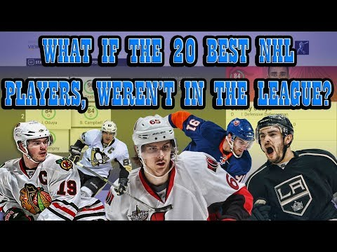 What if the 20 BEST NHL Players Were NOT in The League? NHL 17