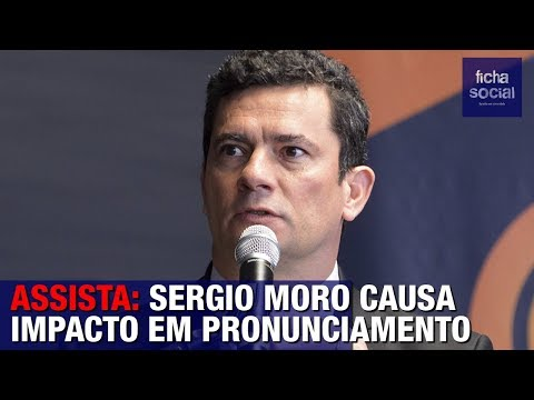 ASSISTA: SERGIO MORO CAUSA IMPACTO EM PRONUNCIAMENTO - GOVERNO BOLSONARO