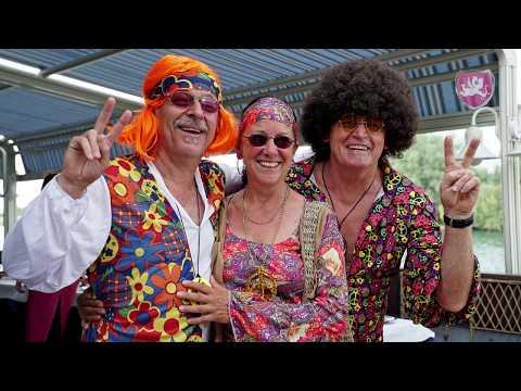 Hippie Geburtstag Party