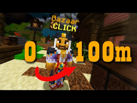 0 to 100M using bazaar only! HYPIXEL SKYBLOCK