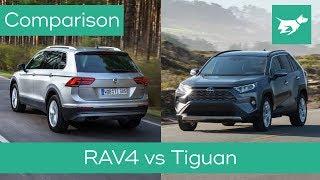 Toyota RAV4 vs Volkswagen Tiguan 2019 comparison review