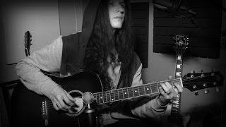 НАРУТО на гитаре (грустная мелодия под звуки дождя)