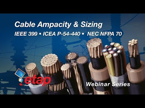 Cable Sizing - Part 1