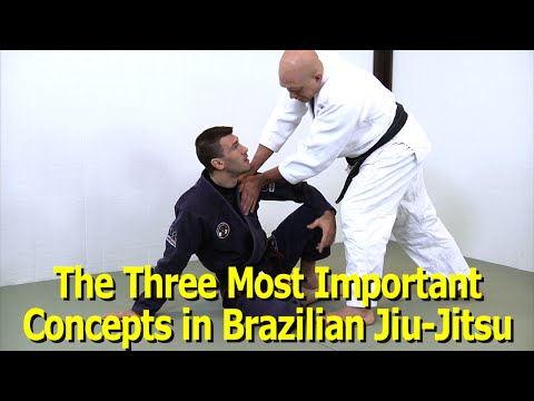The Three Most Critical Concepts of BJJ