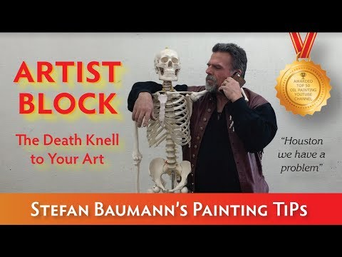 Artist Block or Painting Burn Out -  How to deal with it