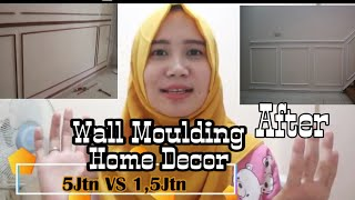 Wall Moulding Rumah Minimalis (HOME DECOR)