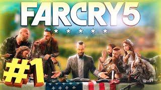 Қазақша Far Cry 5 өту #1- Балық ұстадық, мәшине ұрладық