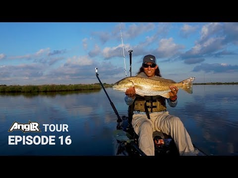 Catching BIG Redfish!! Tips For Kayak Fishing In The Louisiana Bayou