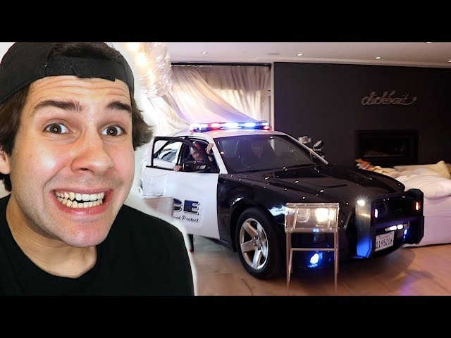POLICE DROVE INTO MY LIVING ROOM!! (FREAKOUT)