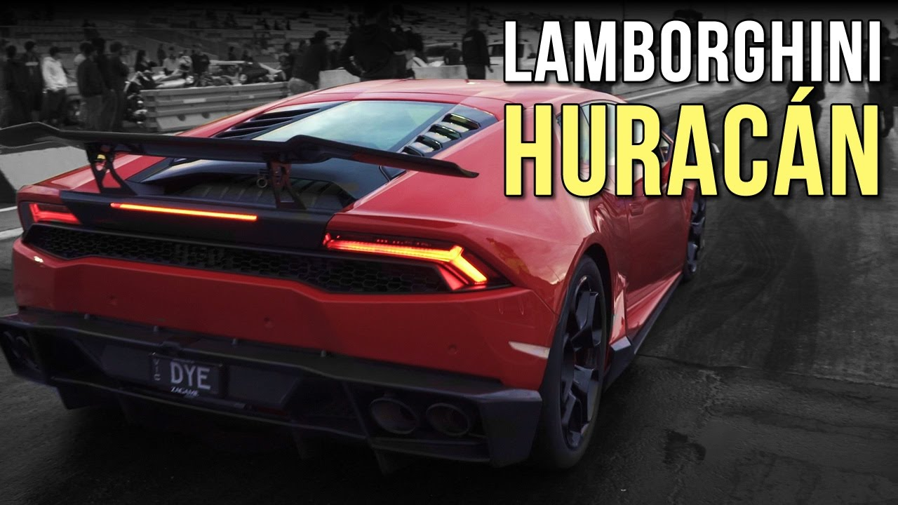 lamborghini hurac n v10 drag racing youtube. Black Bedroom Furniture Sets. Home Design Ideas