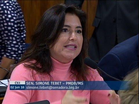 Simone Tebet pede redução de prazo das alegações finais da defesa e acusação, de acordo com o CPP