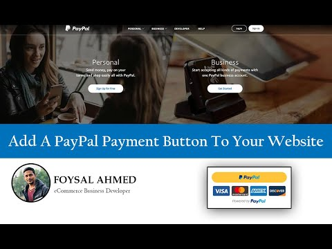 How To Add A PayPal Payment Button To Your Website ( 2020 )