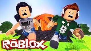 ROBLOX-The Volcano of Death (Ft. Junior) (Natural Disaster)