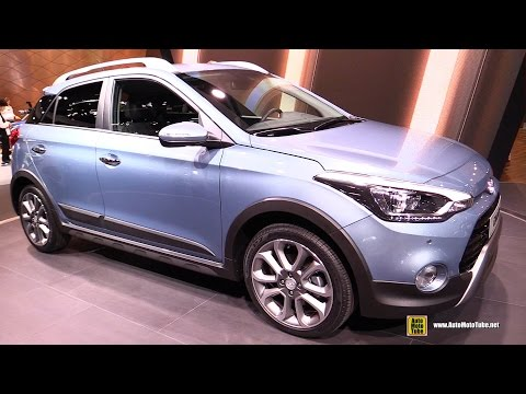 2016 Hyundai i20 Active - Exterior and Interior Walkaround - 2015 Frankfurt Motor Show