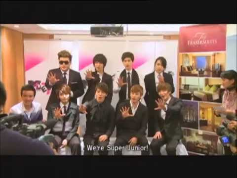MTV EXIT Special with Super Junior at Live in Hanoi (2010)