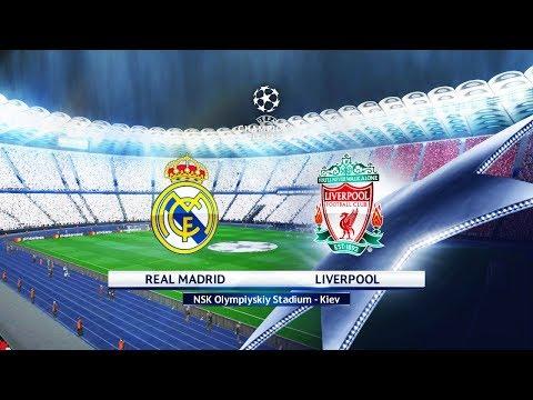FINAL - Real Madrid vs Liverpool FC - Olimpiyskiy Stadium Kiev - UEFA Champions League 2018 - Pes