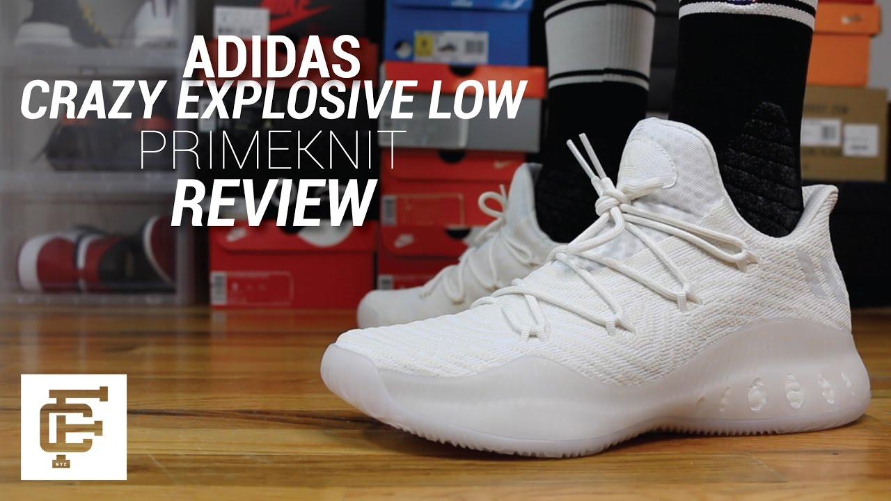 newest 15dd1 479a8 ADIDAS CRAZY EXPLOSIVE LOW PRIMEKNIT REVIEW