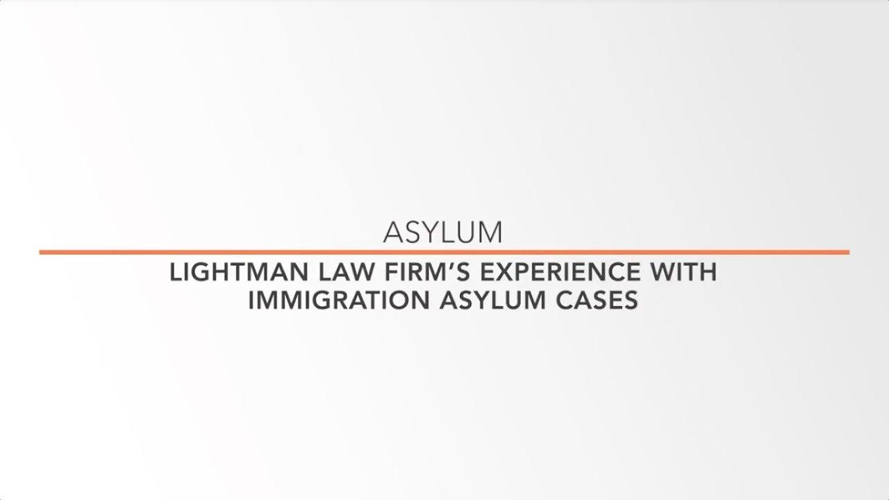 New York Asylum Lawyer For Asylum Seekers | Lightman Law Firm