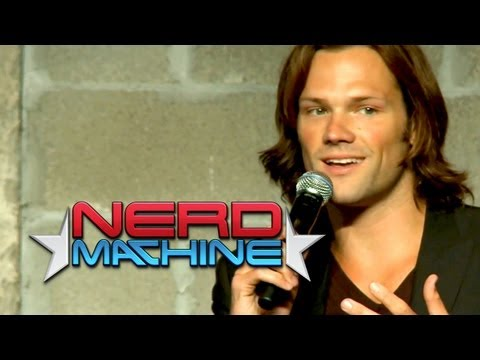Conversation with Jared Padalecki - Nerd HQ (2012) HD - Zachary Levi