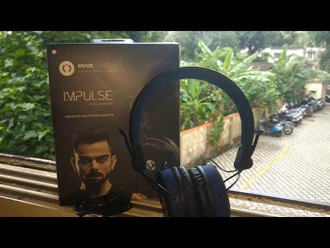 MUVE ACOUSTICS IMPULSE ON-EAR HEADPHONES. Unboxing and Review.