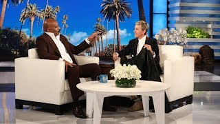 Ellen's friend Steve Harvey told a hilarious story of how he ended up with an $8,500, 16-foot teepee in his backyard.