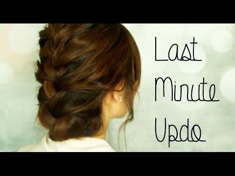 Last Minute Updo