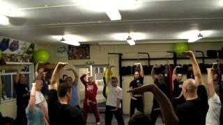 Chi Kung Being Taught At Dr Tom Hamilton's (master Kwok Zhi Chiang) School