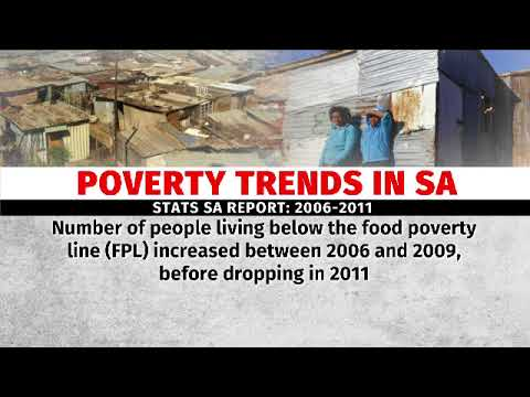 More than 50% of South Africans are living in poverty. - Stats SA