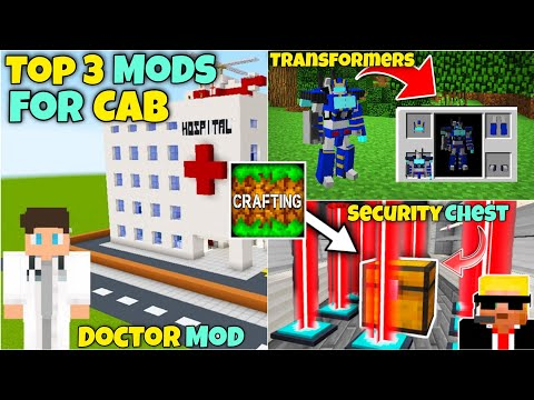 Top 3 Most Popular Mods For Crafting And Building | Without Zarchiver | Without Link