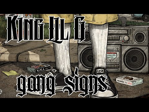King Lil G - Gang Signs (Prod. CRZ Beatz) (With Lyrics On Screen)-90s Kid 2015