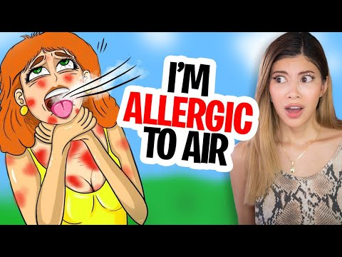 I'm Allergic To AIR! (Reacting to 'True Story' Animations)