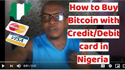 How to Buy Bitcoin With Credit Card or Debit Card in Nigeria