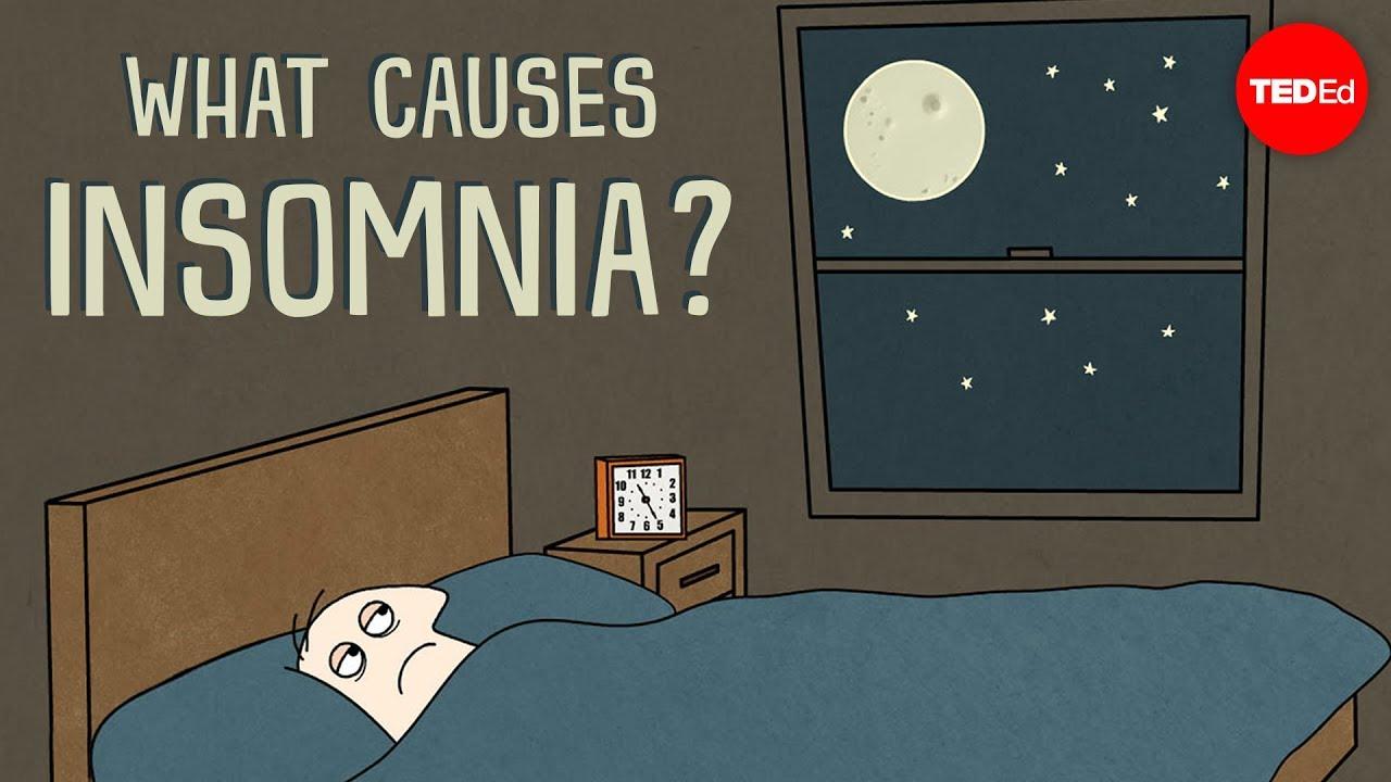 what causes insomnia dan