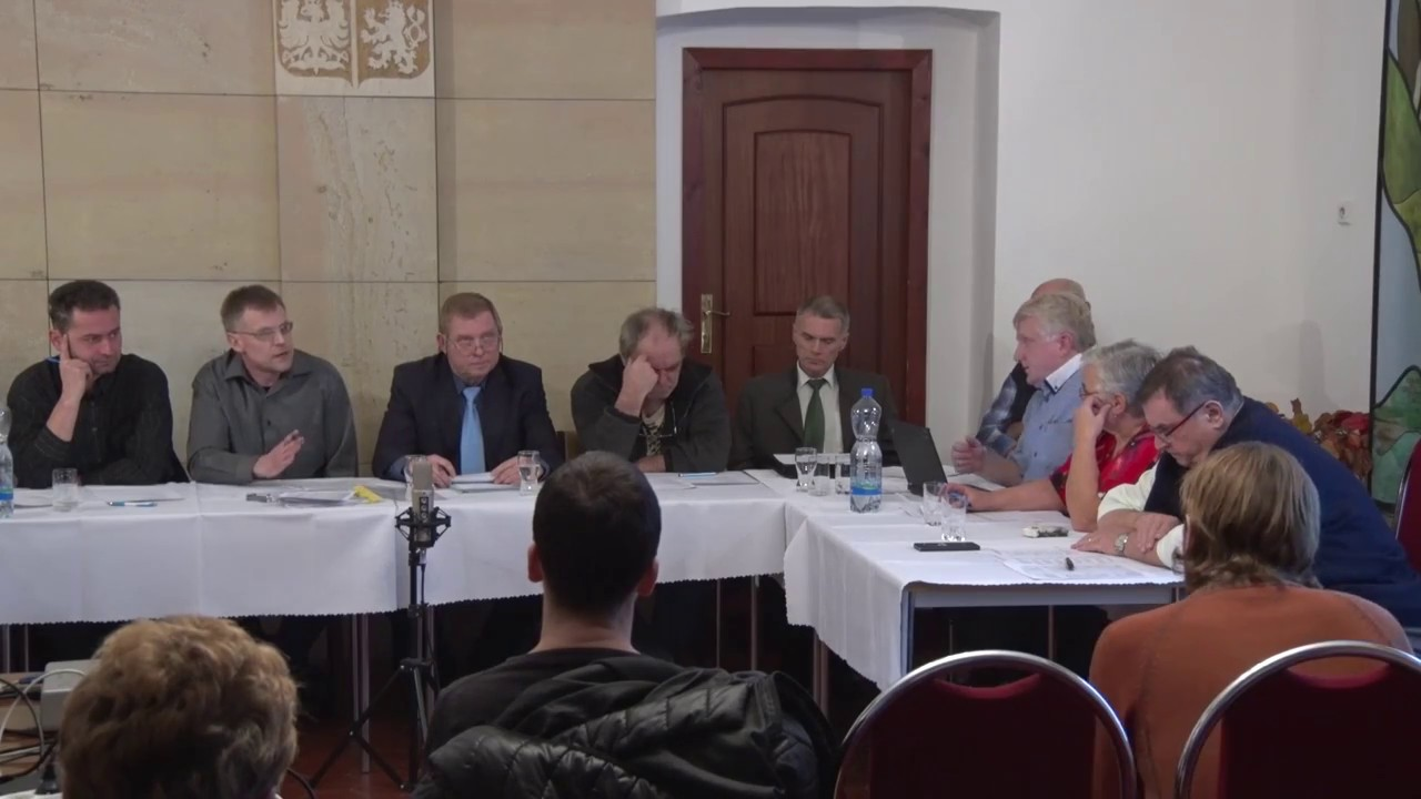 Zastupitelstvo města Hoštky - 12. zasedání ze dne  21. prosince 2016