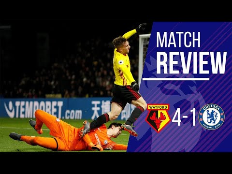 DOWNLOAD AND WATCH: Chelsea 1-4 Watford Match Review LIVE || Conte OUT || TEAM let themselves down