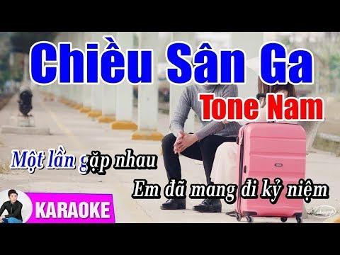 Chiều Sân Ga - KARAOKE Beat Chuẩn | Cao Hoàng Nghi